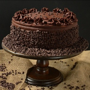 Chocolate chips cake